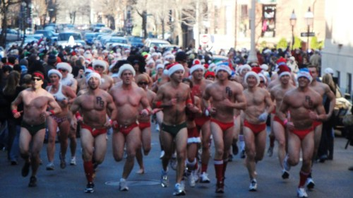 SSR Santa Speedo Boston