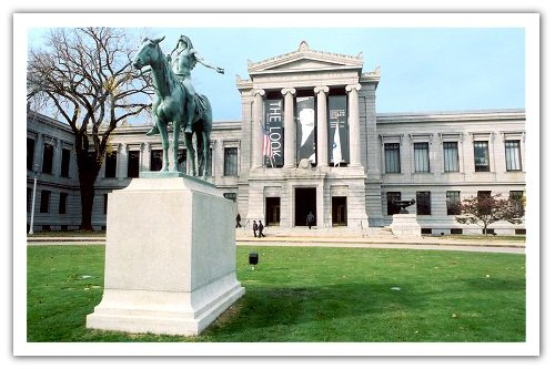 MFA Art of the Americas wing opens
