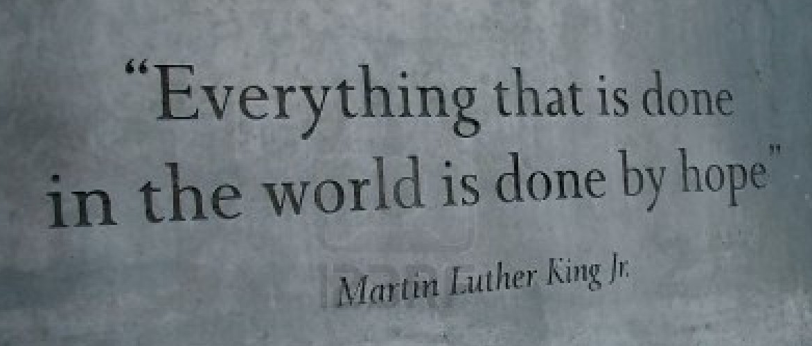 Hope Quote Martin Luther King Jr.