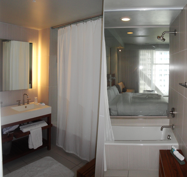 Hotel Review W Hotel Fort Lauderdale BosGuy - Bathroom fixtures fort lauderdale