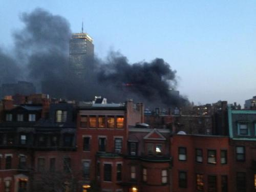 Back Bay Fire