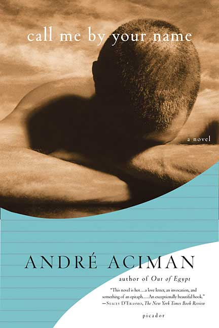 Andre Aciman, gay literature, LGBT novel