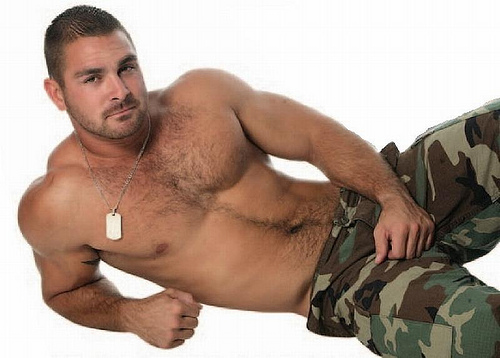 Gay Man Military Nude