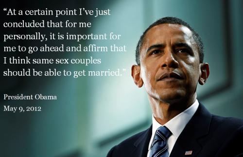 Obama Marriage Equality
