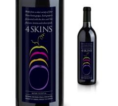 Four skins wine