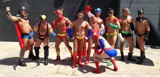 """super heros """"I always found it hard to meet other gay surfers."""