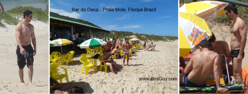 Praia Mole Bar do Deca