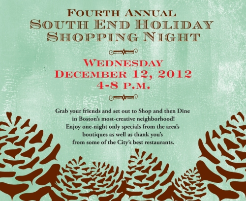 South End Holiday Shopping