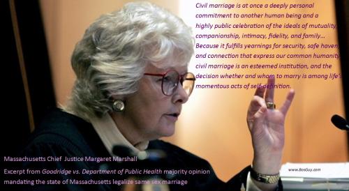 Justice Margaret Marshall