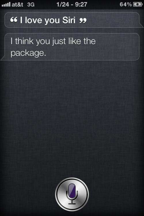 Silly Siri