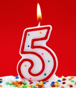 Five Year Anniversary Bosguy