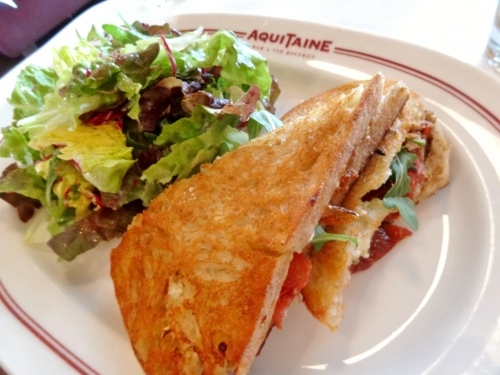 Aquitaine Boston MLT sandwich $9.95