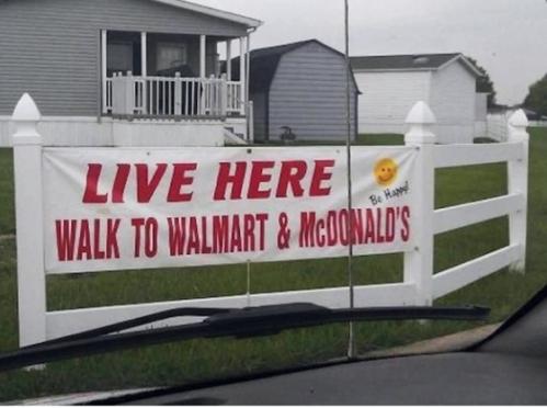 McDonalds and Walmart