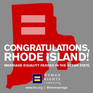 HRC RI Marriage Equality Logo