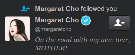 Margaret Cho Twitter