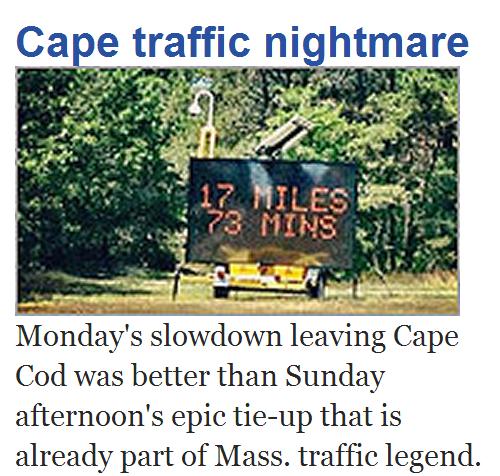 Provincetown traffic