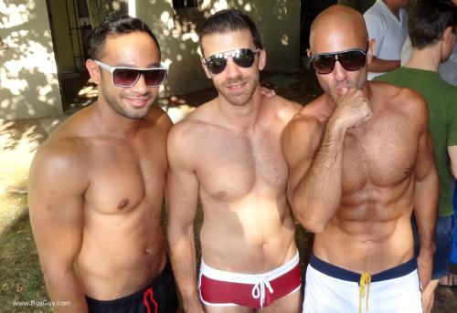 Manhunt Pool Party Men