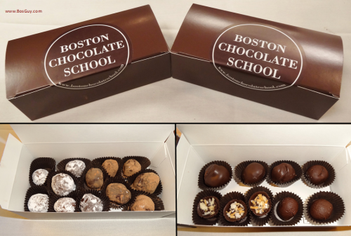 Boston Chocolate School box of truffles
