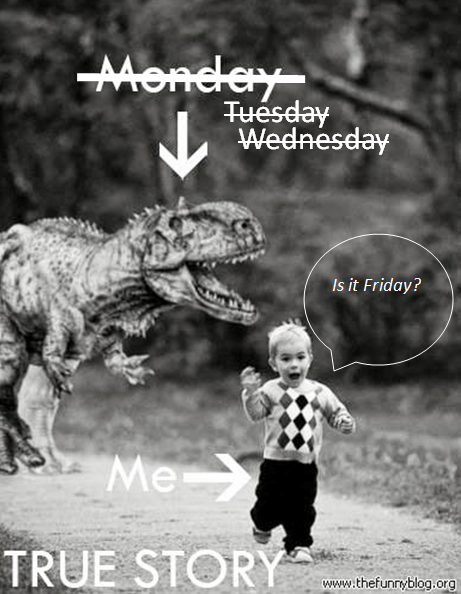Monday Blues Friday
