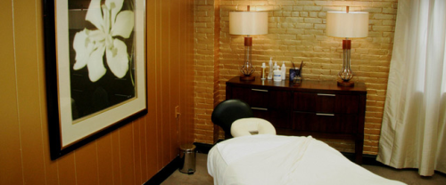 Milton Hill Sport and Spa Massage Room