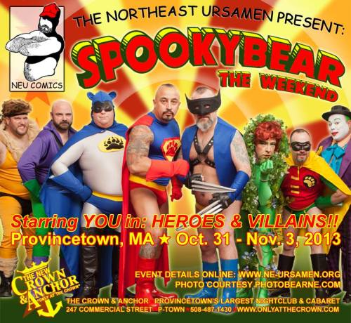 Halloween in Provincetown