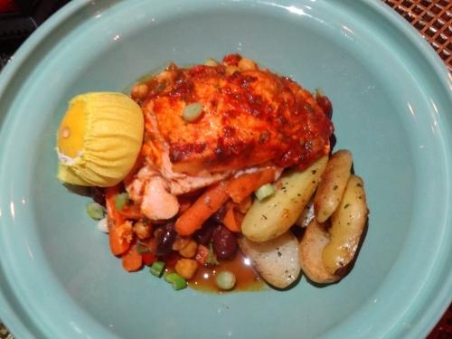 Salmon Baha $26 Tangierino