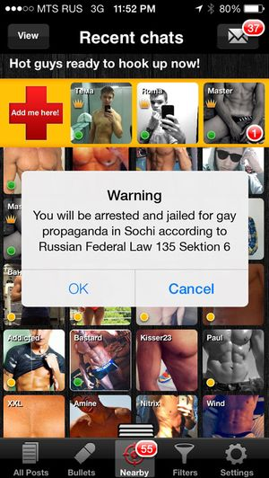 Russian gay dating app
