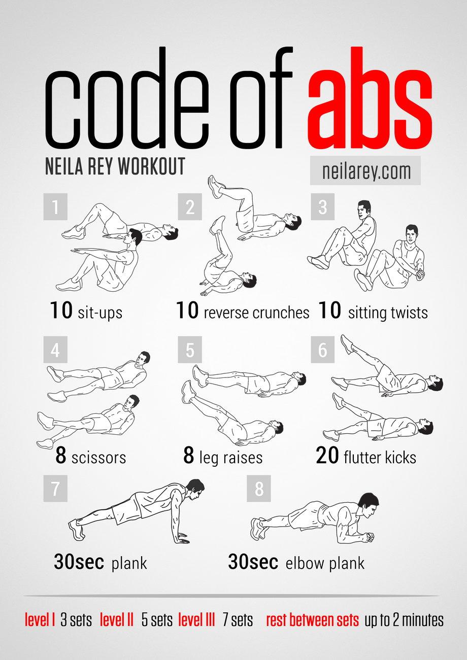 Neila Rey abs workout | BosGuy