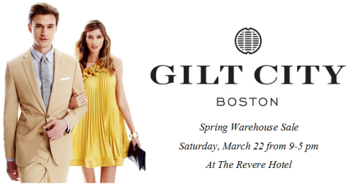 Gilt City Boston Spring 2014 Warehouse Sale