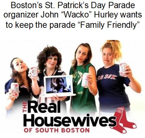 St. Patrick's Day Parade Boston