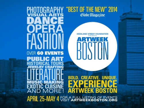 ArtWeek boston spring 2014