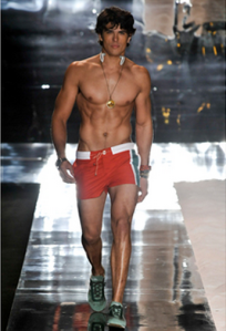 men's fashion short shorts