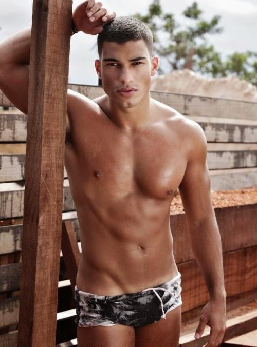 Handsome, gay, hunk