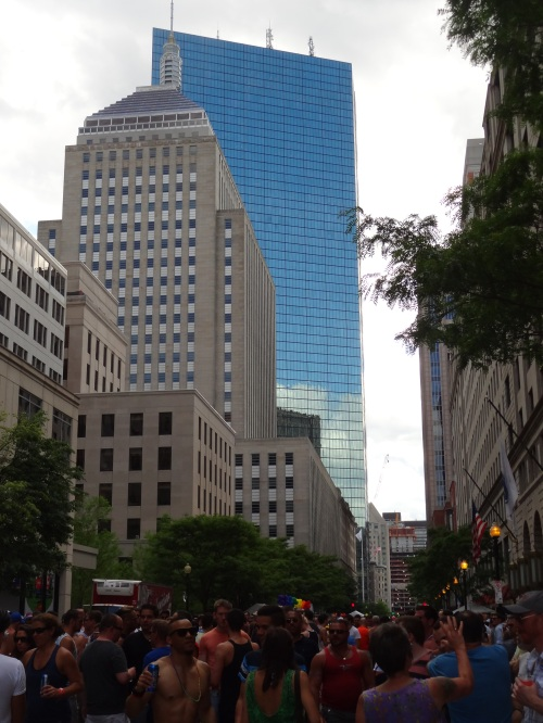gay pride boston, back bay block party