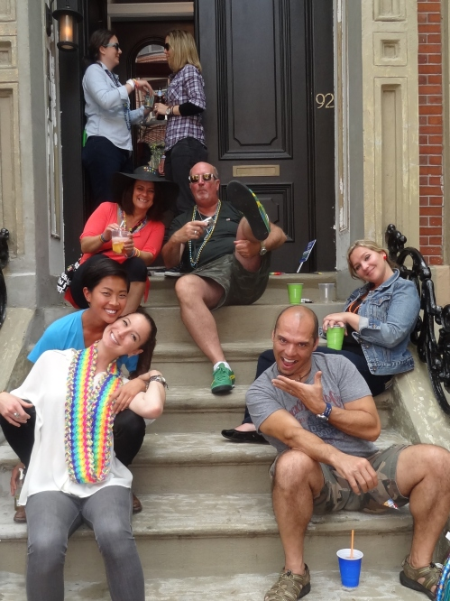 Can you spot the Top Chef at this Stoop Party?