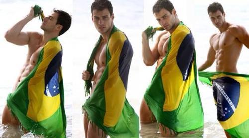 Sexy, Brazilian, Hunk