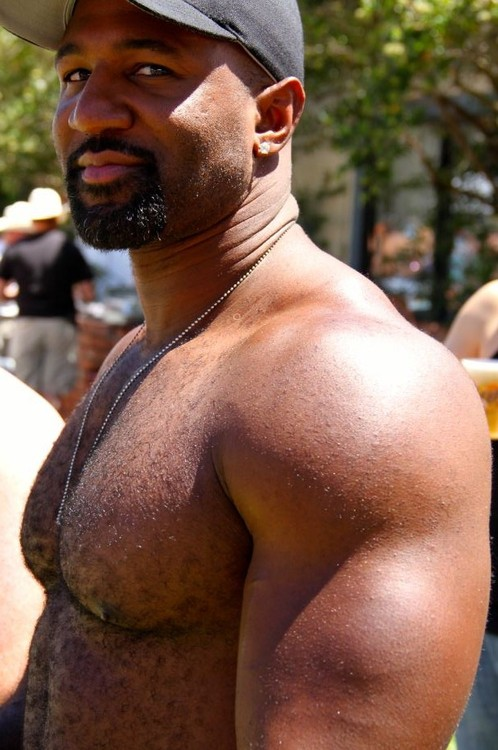 Handsome, black guy, gay, hunk