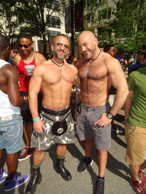 Dirk Caber and Jesse Jackman