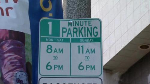Parking humor