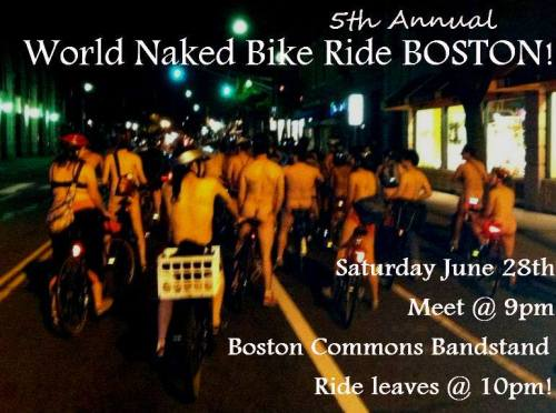 Boston Bike Ride Naked