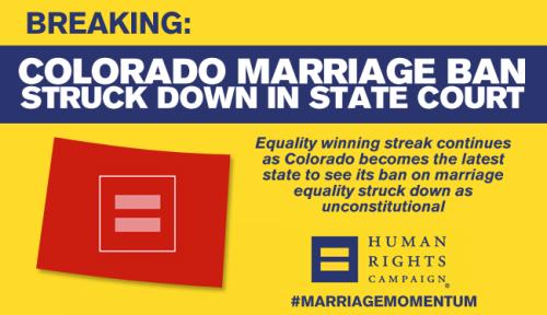 gay marriage colorado, same sex marriage colorado