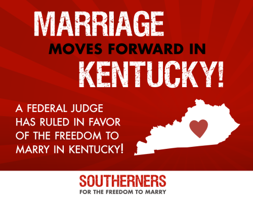 Marriage Equality in Kentucky, same sex marriage Kentucky