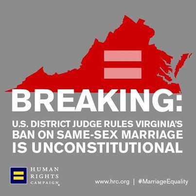 same sex marriage in virginia