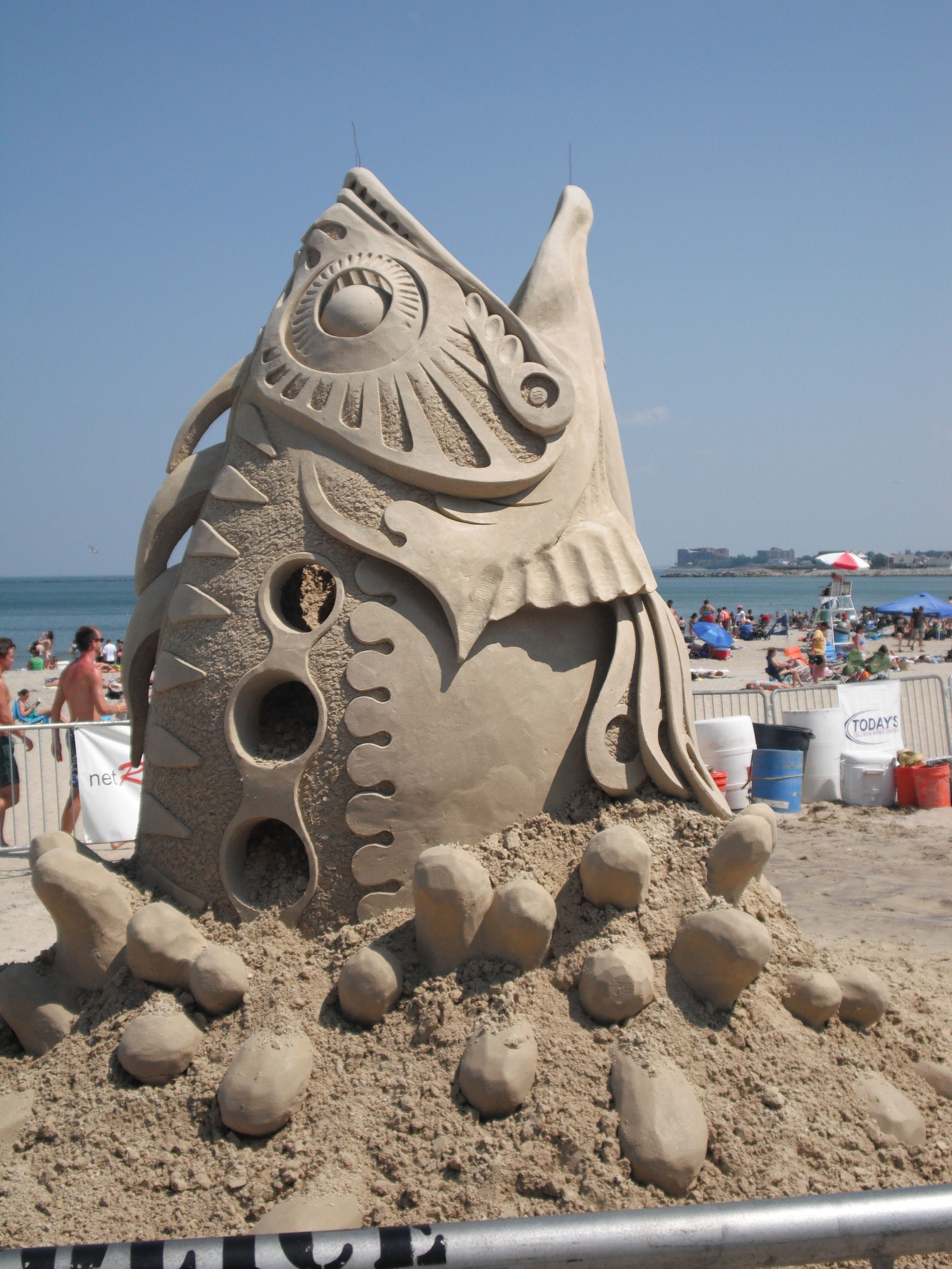 National Sand Sculpting Festival Revere Beach this weekend ...