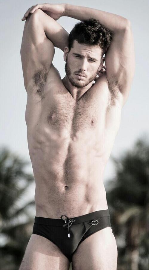 handsome, hunk, jock