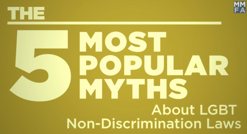 5 most popular myths about LGBT non-discrimination laws