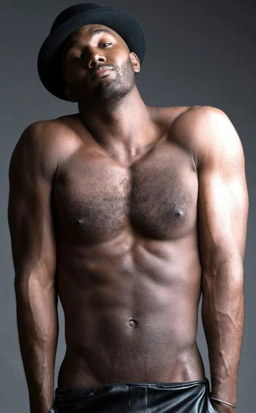 handsome black guy