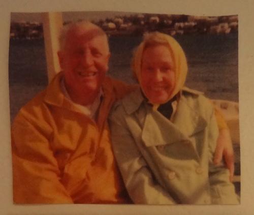 Grandpa Len and Cape Cod Nana