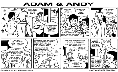 Adam and Andy by James Asal