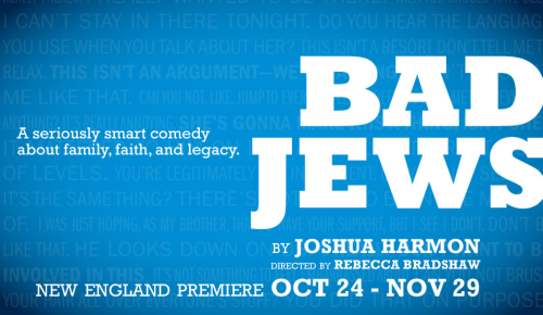 Bad Jews SpeakEasy Stage Company Boston